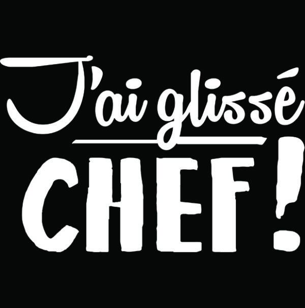 tshirt j'ai glisse chef tournai belgique
