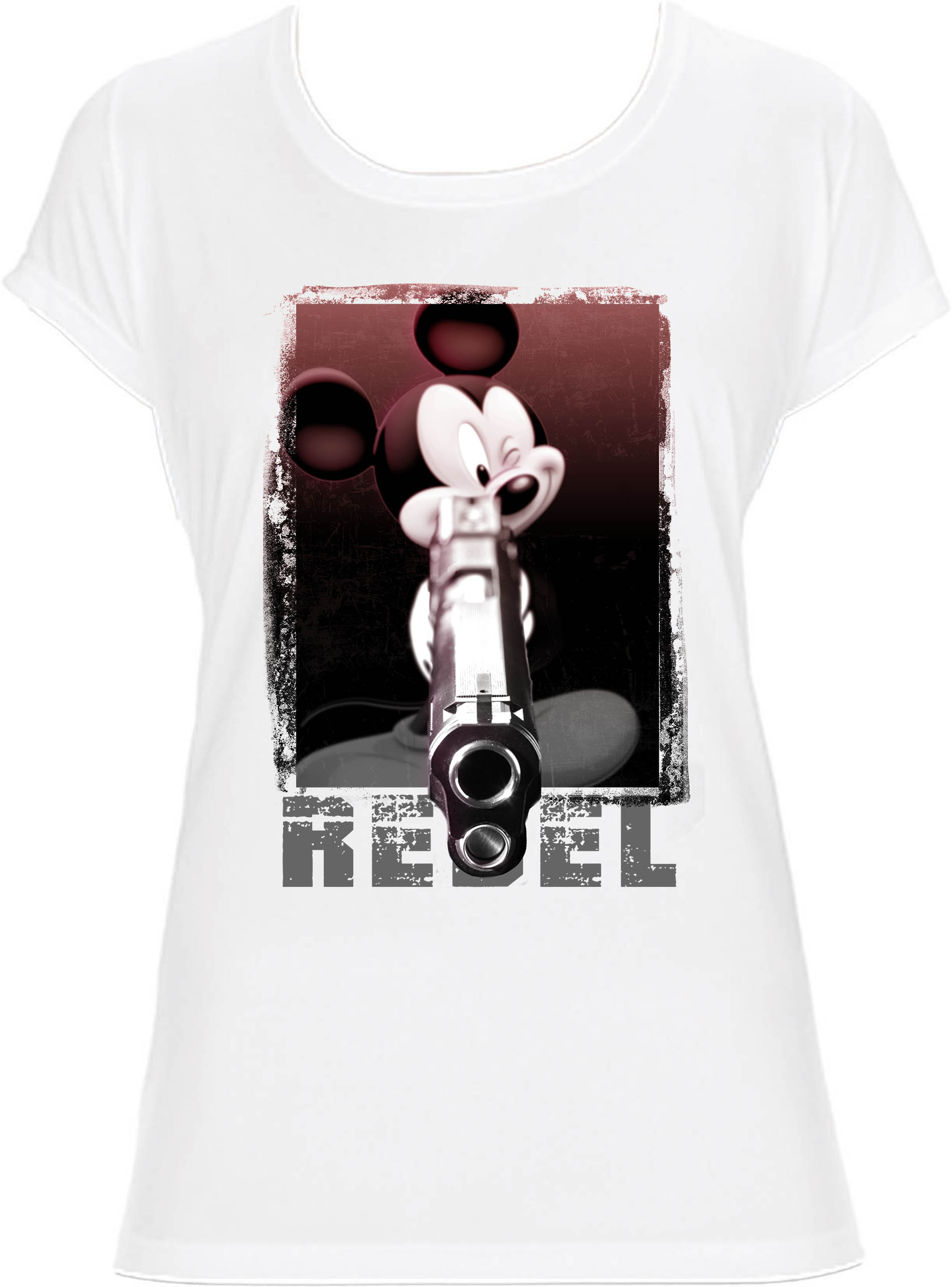 t shirt mickey rebel homme j 39 imprime comme j 39 aime. Black Bedroom Furniture Sets. Home Design Ideas