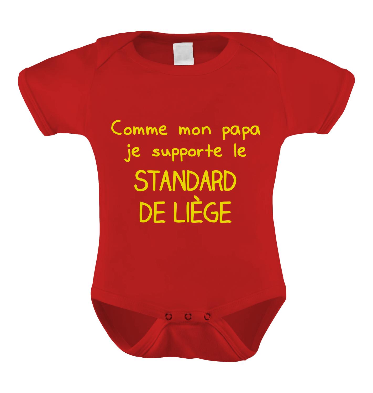 Body Supporter du Standard de Liege - J'imprime comme j'aime