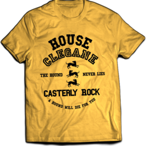T-shirt Game of Thrones - Clegane