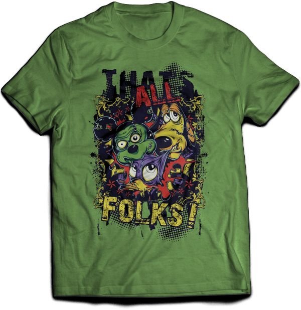 T-shirt That's All Folks
