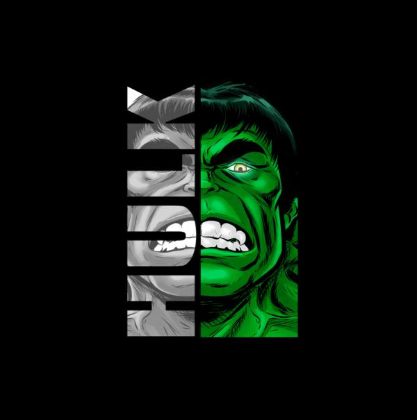 Tshirt Hulk super héros belgique Tournai