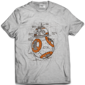 T-shirt BB8 Plan