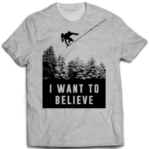 Tshirt I want to believe Spider Man