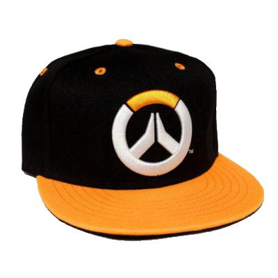 casquette-snapback-overwatch-orange-power