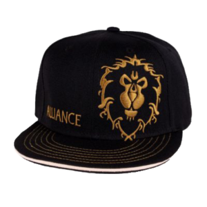 Casquette-world-of-warcraft-alliance-logo