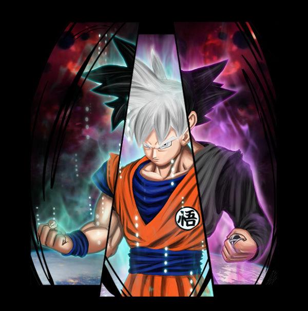 Visuel Goku Trio