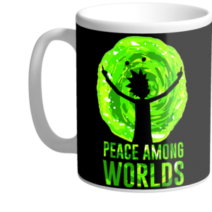 Mug-rick-et-morty-peace-among-worls