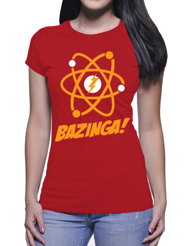 bazinga couleur rouge
