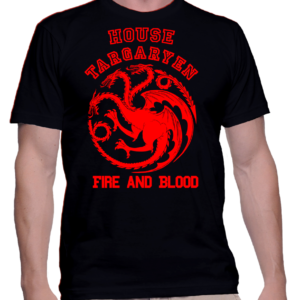house of targaryen couleur noir