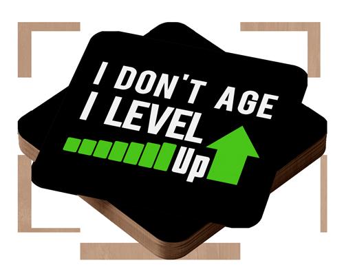 I don't age i level up
