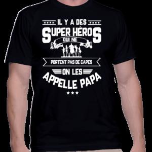 il y a des super heros couleur noir