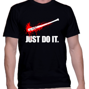 jus do it walking dead couleur noir