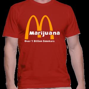 marijuana couleur rouge