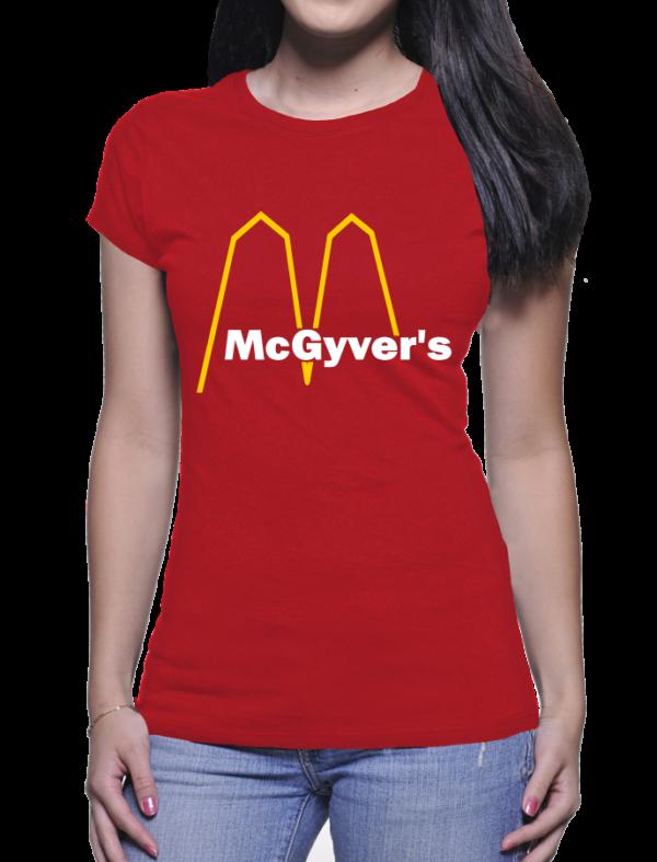 mc gyver's couleur rouge