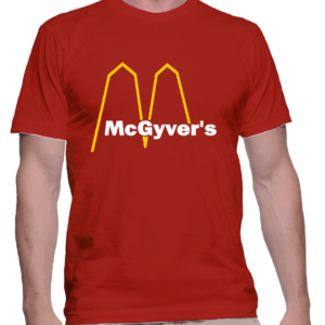 mcgyver's couleur rouge