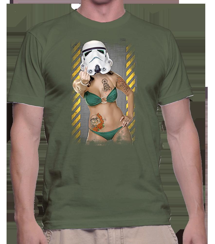 sexy trooper vert kaki