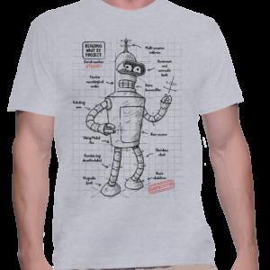 bender plan t-shirt homme