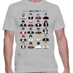 personnages cultes t-shirt homme