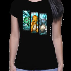 t-shirt femme trio starter