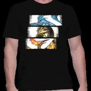t-shirt homme trio oiseau lefendaire