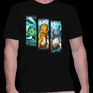 t-shirt homme trio starter
